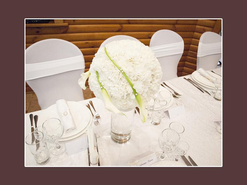 Blumendeko Hochzeit Tisch
