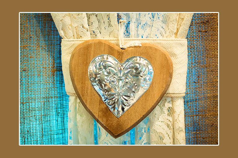 Deko Herz aus Holz