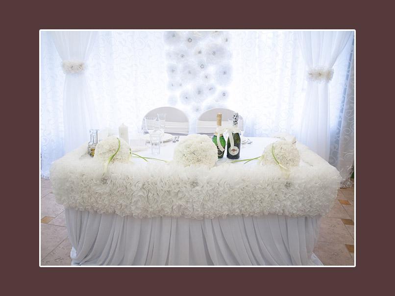Dekoration Hochzeit weiss 1