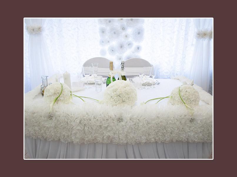 Dekoration Hochzeit weiss 2
