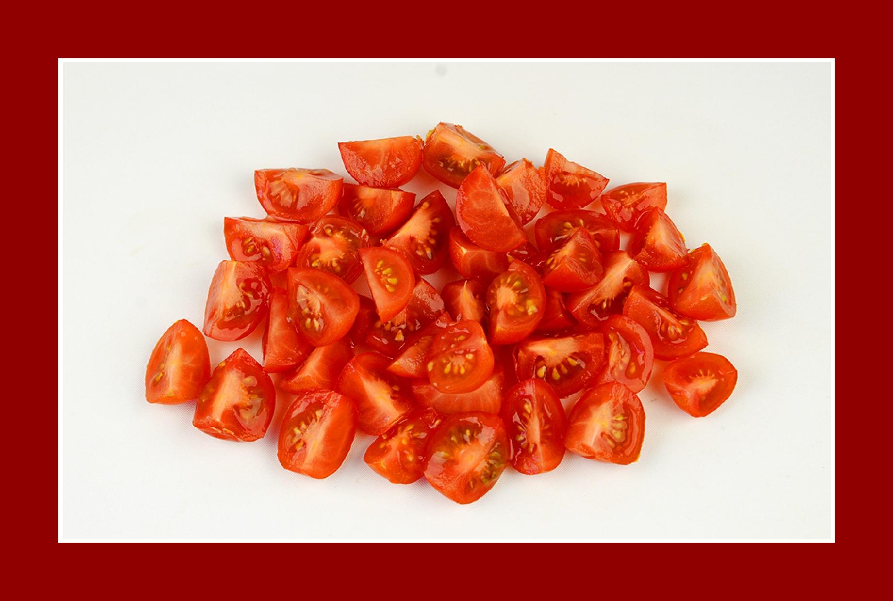 Cherry Tomaten Salat zum Grillen