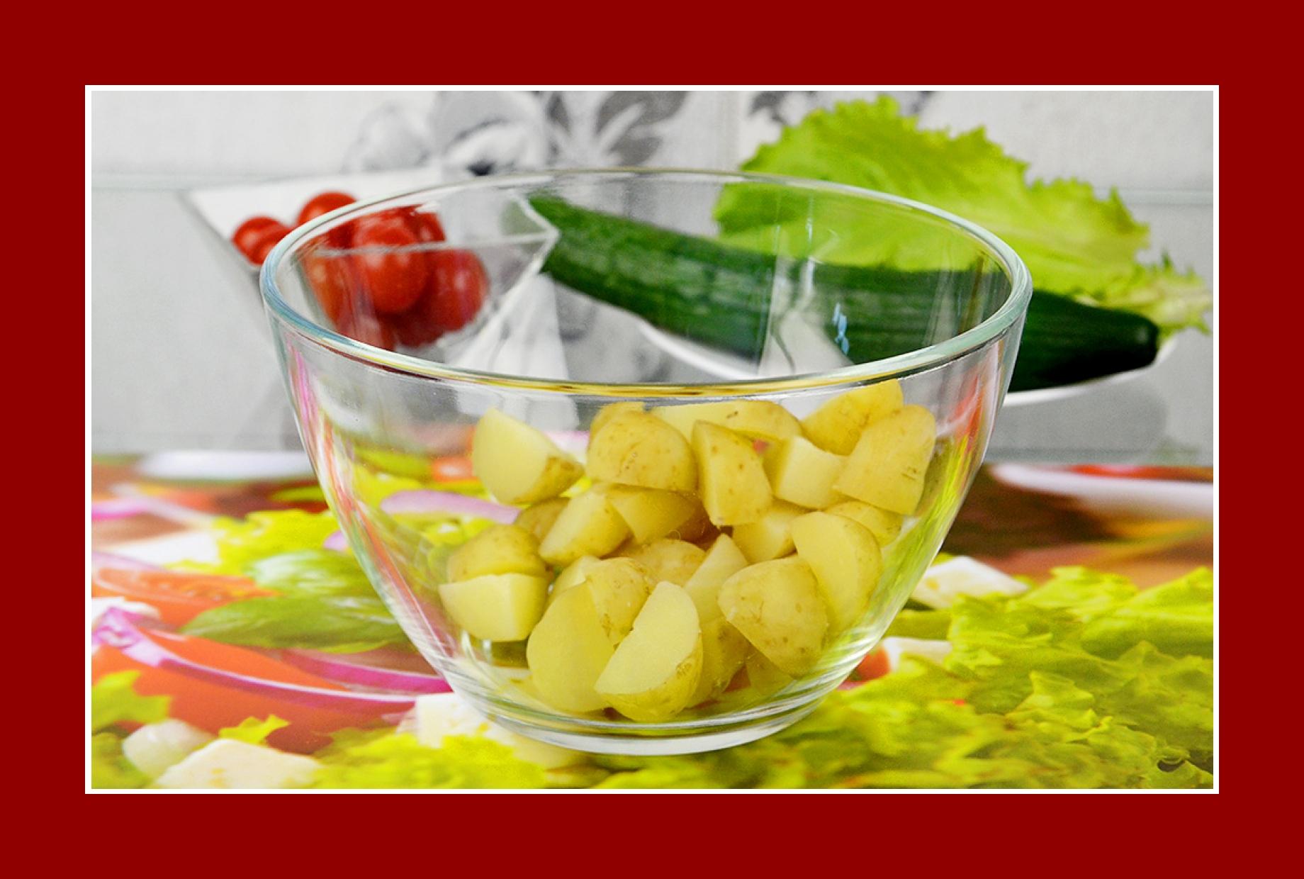 Kartoffelsalat Sommersalat Salat zum Grillen